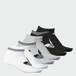 adidas Originals Trefoil No-Show Socks 6 Pairs Women's