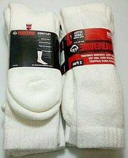 Wolverine OTC Cotton Boot Sock, XL, White, 6 pair $29.99 +FR