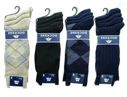 Pack of 4 Dockers Mens Classic Ribbed Lightweight Moisture W