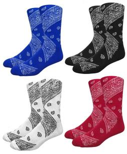 LEAF REPUBLIC PAISLEY BANDANA ALL OVER PRINT PATTERN KNIT ME