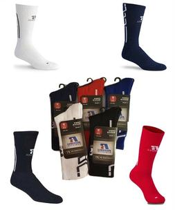 Russell Athletic Performance Crew Socks Choose Colors Soccer