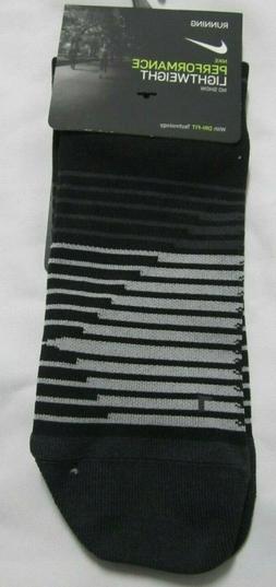 Nike Performance Light weight No Show  Running Men Sock  8 -