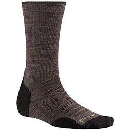 Smartwool PhD Outdoor Light Crew Socks Large Taupe, New