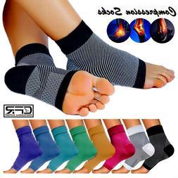 plantar fasciitis compression socks arch ankle running