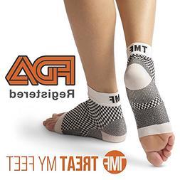 Plantar Fasciitis Socks by Treat My Feet – Ankle Compressi