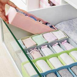 Plastic Organizer Tie Bra Socks Drawer Cosmetic Container Di