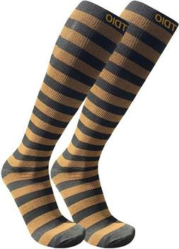 Plus Size Wide Calf Athletic Compression Support Socks 15-20
