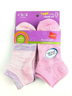 Hanes Premium Girls Comfortsoft No Show Socks Size Medium 10