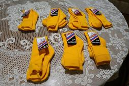 All-Star Pro Cushion Sport Gold/Yellow Sock LARGE 10-13