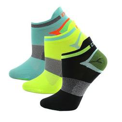 ASICS Quick Lyte Single Tab 3-Pack  Athletic Running  Socks