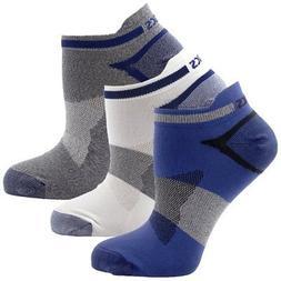 ASICS Quick Lyte Single Tab Socks , X-Large, Indigo Blue Ass