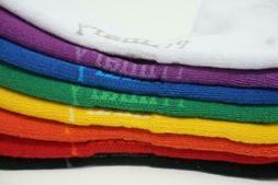 Rainbow Color Supima Crew Socks Pack