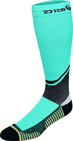 ASICS Rally Knee High Socks, Turquoise, Medium