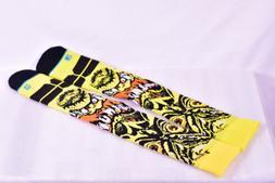 Stance Roskopp Thick Snowboarding Socks - Yellow - L /XL