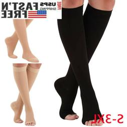 S-3XL Compression Knee Leg Relief Pain Support  Stockings So