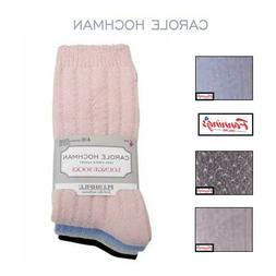 SALE! Women's Carole Hochman 4 PACK Sock Lounge Super Soft P