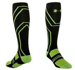 Under Armour Men's Scent Control Cushion Crew Socks, Velocit