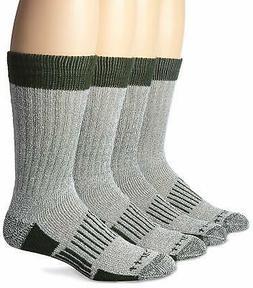 Carhartt Men's 4 Pack All Season Wool Work Socks,  Green, So