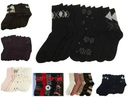 Passione Set of 5 Luxury Cashmere Blend Crew Socks A202536