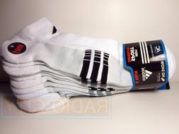Adidas Men's No Show Sport Sock White-Black/Gray - Extended