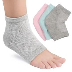 Silicone Gel Ankle Arch Support Socks Heel Cover Pain Relief