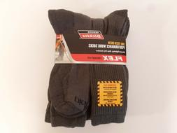 Dickies Size 12-15 Big and Tall Mens Comfort Crew Work Socks