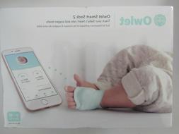 Owlet Smart Sock 2 Baby Heart Rate & Oxygen Levels Monitor