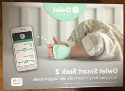 Owlet Smart Sock 2 Baby Monitor - 0-18mo - New!!!