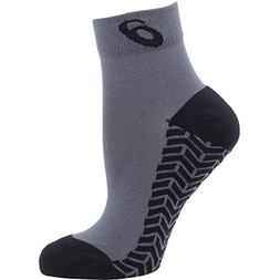 ASICS Snap Down It Socks, Graphite/Black, Large