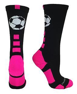 MadSportsStuff Soccer Ball Crew Socks