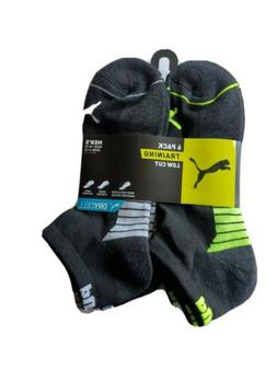 Puma Sock Low Cut Ankle Socks, 6-pair  Black/Blue Color and