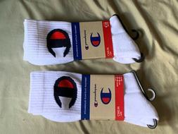 socks mens crew white