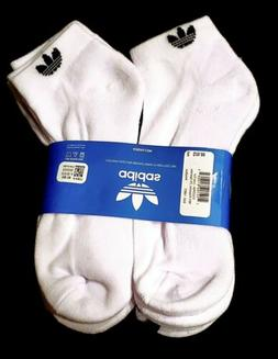 ADIDAS Socks NEW Original Forum Men's Crew Length White Size
