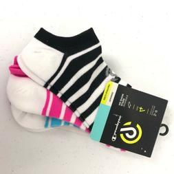 Champion Socks Super No Show 4 Pairs Women's Shoe Size 5-9