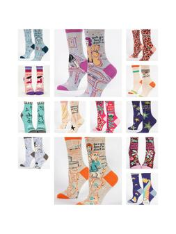 socks women s crew and ankle funny