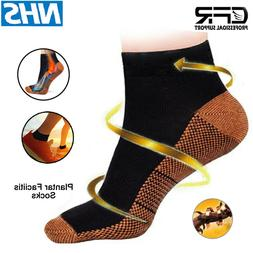 Soothers Socks Anti Fatigue Compression Foot Sleeve Support