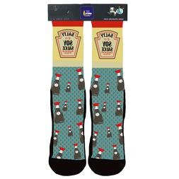 Soy Sauce Socks Condiment Socks Novelty Socks Soy Sauce