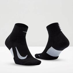 Nike Spark Elite Cushion Ankle Running Socks Black White SX5