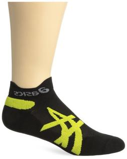 ASICS Speed Low Cut Sock, Black/Vivid, Large