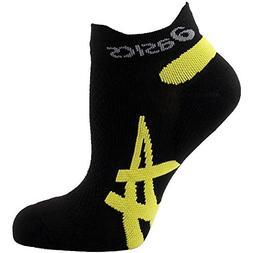 ASICS Speed Low Cut Sock, Black/Vivid, X-Small
