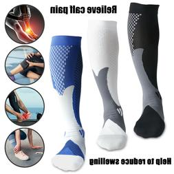 Sports Compression Socks 20-30 mmHg Calf Leg Support Pain Re