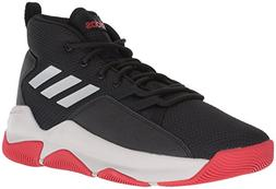 adidas Men's Streetfire Basketball Shoe, Black/Grey/Scarlet,