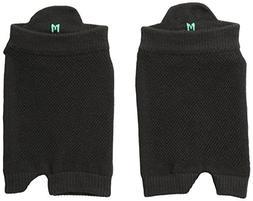 ASICS Women's Studio No-Slip Single Tab Toeless Sock, Medium