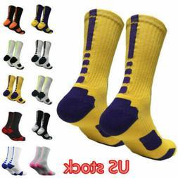 Stylish Thicken Towel Men's Socks Sport Professional Basketb