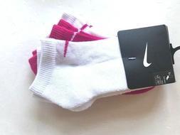 Nike Kid's Low Cut Performance Girl's Assorted 3-Pair Socks