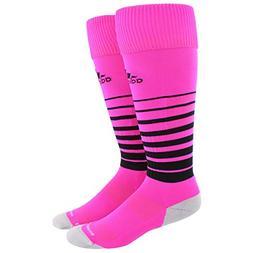 adidas Team Speed Soccer Socks , Shock Pink/Black/Light Onix