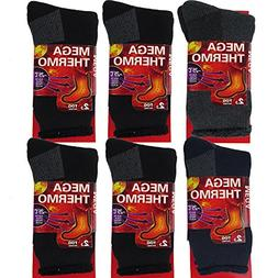 thermal socks for men 6 pairs insulated