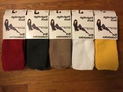 American Apparel Thigh High Socks Yellow, White, Camel, Gray