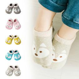 Toddler Infant Baby Socks Novelty Fox Cotton Anti Slip Socks