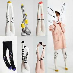 Toddler Kids Baby Girls Cotton Tights Socks Stockings Pants